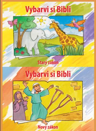Bible Coloring Book Set (Czech)